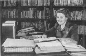"Source: Mary K. Eakin, ""Judging Books for Children,"" The University of Chicago Magazine 44, no. 3 (1951): 10, Courtesy of the University of Chicago Library"