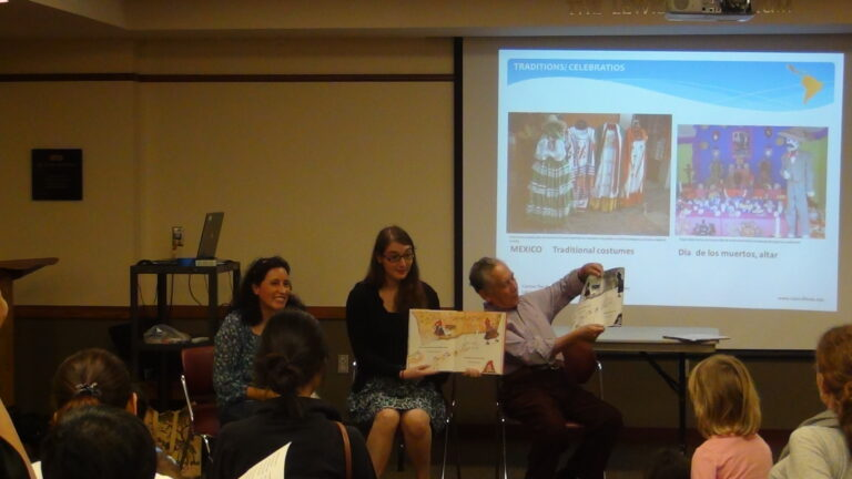 Spanish Story Time with Center for Latin American and Caribbean Studies 2015